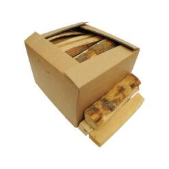Brennholz abgepackt